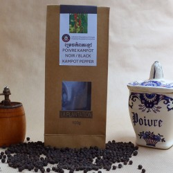 Black Kampot Pepper 100g